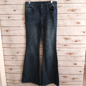 Black Orchid bell bottom jeans size 28 x 34 long